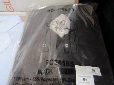 Black Knight Boiler Suit - Size 38R - New & Packaged.