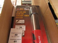 Am-Tech - 1W Cob & 0.5W LED Penlight Touch - New & Packaged.