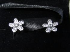 Pandora Earrings, new in presentation box, please see picture for style.