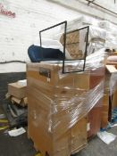 | 1X | PALLET OF SWOON B.E.R FURNITURE, UNMANIFESTED, TYPICAL ITEMS INCLUDE SIDE BOARDS AND MEDIA