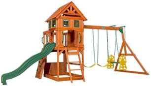 Back Yard discovery Atlantic Outdoor swing set,this item is unchecked but upon quick glace looks to