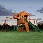 Back yard discovery Sky fort 2 outdoor play centre, this item is unchecked but upon quick glace