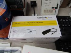 Startech 7 port metal USB 3.0 Hub, unchecked and boxed.