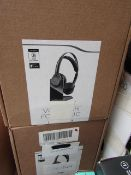 Voyager Focus BT headset, unchecked and boxed.