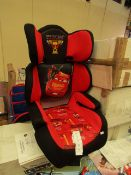 Disney - Cars 3 - Car Seat (43 x 28.5 x 62cm) - All Unchecked But look New & Boxed.