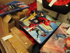 Spider-Man - Folable Table & Chairs Set - (65.5 x 9 x 67cm) - Unchecked & Boxed