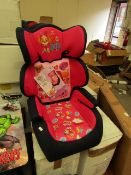 Nickelodeon - Paw Patrol (Girls) - Car Seat (43 x 28.5 x 62cm) - All Unchecked but look New & Boxed.