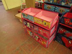 My Little Pony - Metal Toy Storage Organizer - Looks Complete.