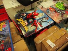 Spider-man - Folding Table & Chairs - Good Condition looks Complete.