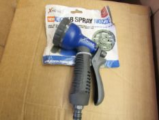   1X   XHOSE SPRAY NOZZLE   UNCHECKED AND PACKAGED   NO ONLINE RE-SALE   SKU -   RRP -   TOTAL LOT