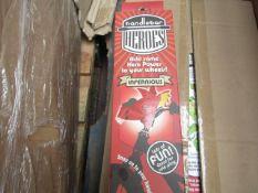 2 X Handle Bar handlebar Heroes Infernious Bike Accessory. New & Boxed