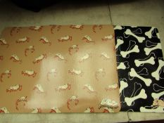 5 Packs of 6 Snoozzzeee Dog Food Mats. 42cm x 30cm Each. New & Packaged