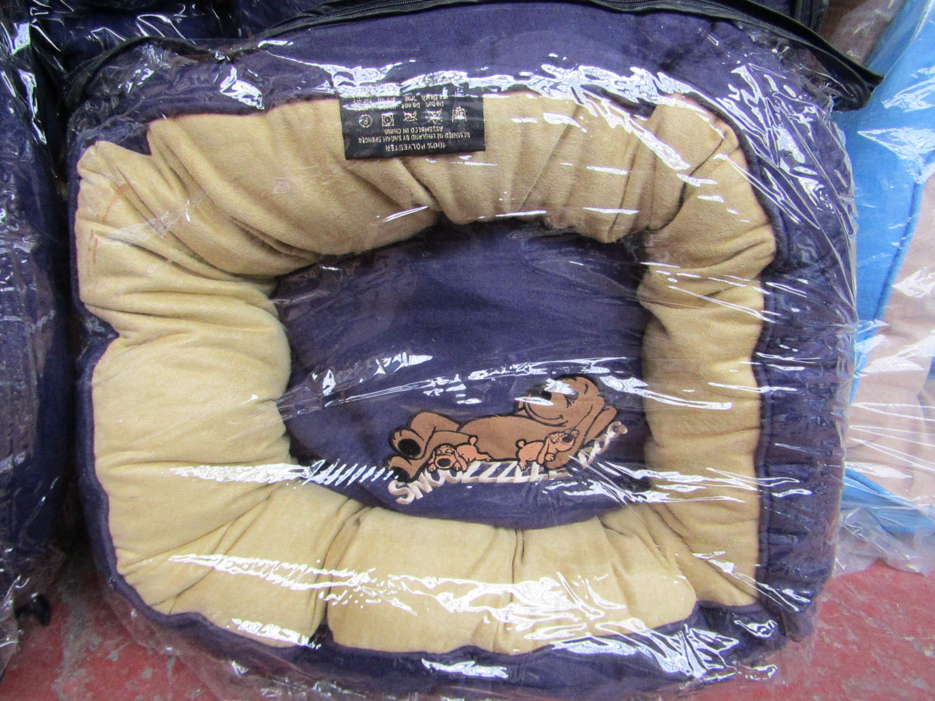 "5x Snoozzzeee Dog - Purple Donut Dog Bed (20""/51cm) - All New & Packaged."