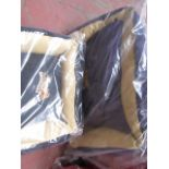 "2x Various Snoozzzeee Dog - 1x Black Sofa Dog Bed (23"") - New & Packaged. 1x Purple Sofa Dog Bed ("
