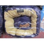 """5x Snoozzzeee Dog - Purple Donut Dog Bed (20""""/51cm) - All New & Packaged."""