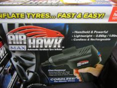| 1X | AIR HAWK MAX COMPRESSOR | UNCHECKED AND BOXED | SKU C5060191466837 | NO ONLINE RESALE |