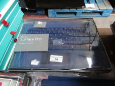 7x Microsoft Surface Pro type cover, untested and boxed. QWERTY keyboard