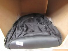 Targus durable backpack, unchecked.