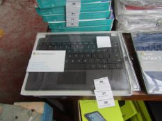 Microsoft Surface 3 type cover, untested and boxed. QWERTY keyboard
