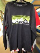 Mountain Warehouse Mens Dark Navy Long Sleeve Top size L see image