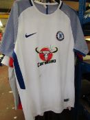 Chelsea Official Nike Football Shirt size L see image
