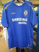Chelsea Official Centenary Football Shirt size L see image