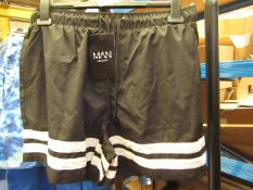 Boohoo Men Swim Shorts size L with tag see image