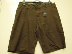 Brave Soul Mens Shorts size 34 new with tag see image