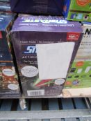 | 10X | STARTASTIC ACTION LASER PROJECTORS | UNCHECKED AND BOXED | NO ONLINE RESALE | SKU