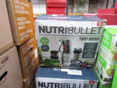 | 3X | NUTRI BULLET 1200 SERIES | UNCHECKED AND BOXED | NO ONLINE RESALE | SKU C5060191464758 |