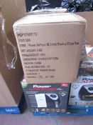 | 3X | POWER AIR FRYER XL 3.2LTR| UNCHECKED AND BOXED | NO ONLINE RESALE | SKU C5060191465366 |