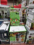| 7X | NUTRI BULLET 600 SERIES | UNCHECKED AND BOXED | NO ONLINE RESALE | SKU C5060191467346 |