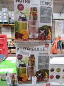 | 5X | NUTRI BULLET 900 SERIES | UNCHECKED AND BOXED | NO ONLINE RESALE | SKU C5060191467353 |