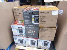 | 1X | PALLET OF APPROX 26 DREW AND COLE PRESSURE KING PRO 12 IN 1 5LTR DIGITAL PRESSURE COOKERS |
