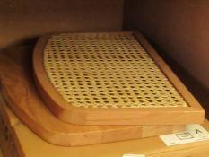 | 1X | LA REDOUTE BEDSIDE UNIT IN OAK | LOOKS UNUSED (NO GUARANTEE), BOXED | RRP £123.49 |