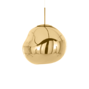 | 1X | TOM DIXON GOLD 50 EU MELT CEILING LIGHT | UNCHECKED AND BOXED | RRP £680 |