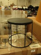 | 1X | MENU WIRE TABLE TOP BLACK MARBLE | UNTESTED BUT LOOKS UNUSED AND BOXED | RRP £212.49 |
