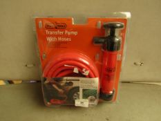 Stag Tools Transfer Pump With Hose. Intake & Discharge Transfer System.Unused & Packaged