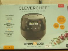 | 1X | DREW AND COLE CLEVER CHEF | BOXED AND REFURBISHED | NO ONLINE RESALE | SKU - | RRP £ 69.