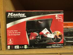 Master Lock 7140D Securtity Chest with Keys. New & Boxed