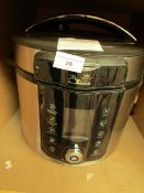 | 1X | PRESSURE KING PRO 8 IN 1 3L DIGITAL PRESSURE COOKER | POWERS ON AND UNBOXED | NO ONLINE RE-