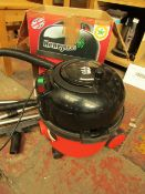 Henry Hoover with accessories. This has Been used and Works as it should. In Original Box