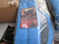 """6x Snoozzzeee Dog - Oval Sky Blue Dog Bed (37"""") - All New & Packaged."""