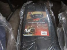 """2x Snoozzzeee Dog - Oval Black Dog Bed (37"""") - New & Packaged."""