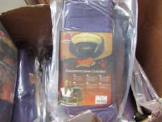 """5x Snoozzzeee Dog - Purple Oval Dog Bed (23"""") - All New & Packaged."""