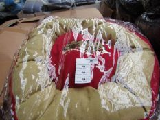 10x Snoozzzeee Dog - Cherry Red Donut Dog Bed (Size 1) - All New & Packaged.