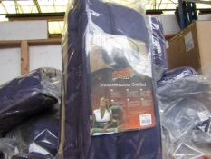 """5x Snoozzzeee Dog - Oval Purple Dog Bed (37"""") - All New & Packaged."""