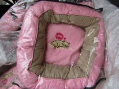 """5x Snoozzzeee Cat - Prissy Pink Donut Cat Bed (20""""/51cm) - New & Packaged."""
