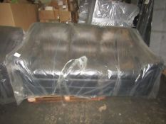 A pallet of 1x raw return Corner sofa  unchecked  untested  returns of various grade -  could be