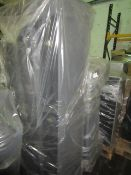 A pallet of 2x raw return sofa  unchecked  untested  returns of various grade -  could be of the